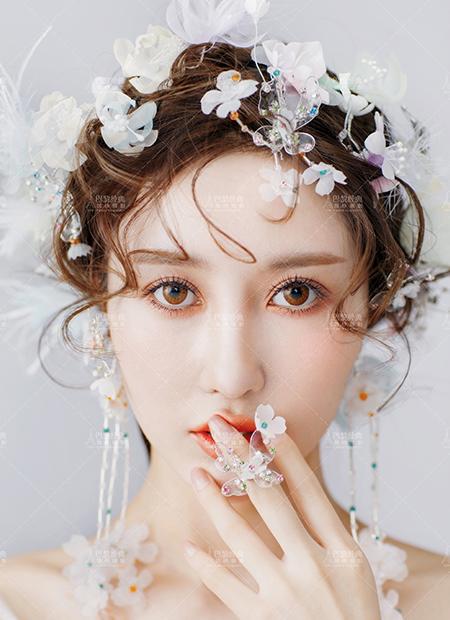 韩式优雅-花系甜美妆-2