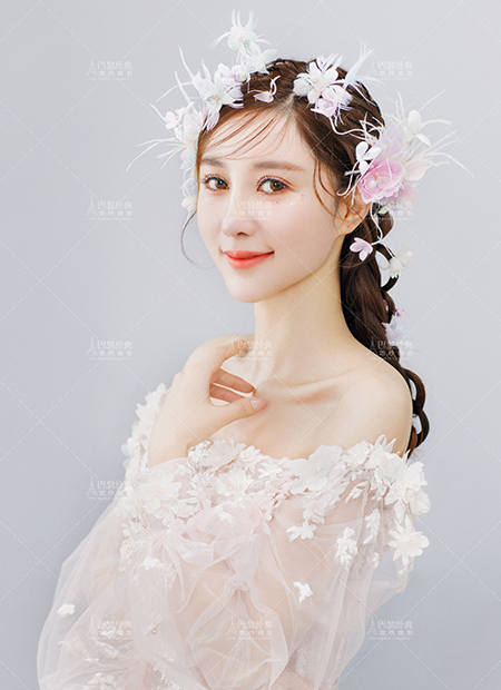 韩式优雅-花仙子妆